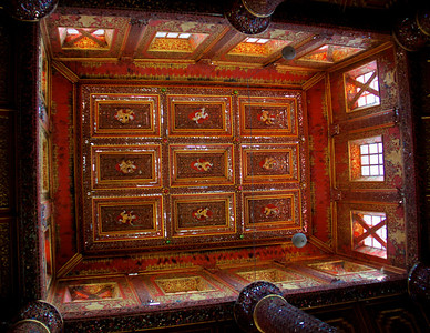 Glass Mosaic Ceiling