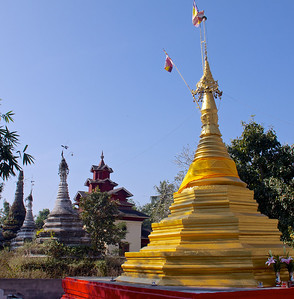 New and Old Stupas
