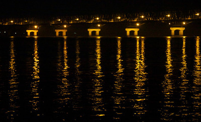 Thalwin Bridge at Night