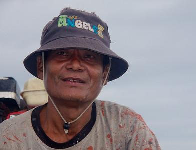 Boat Assistant Closeup