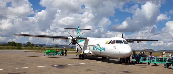 Air Bagan Airplane