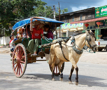 Horsecarts Are One Transportation Option