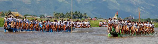 Two Boats Racing