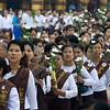 Women's Prayer Group Walking<br /> Shwedagon Pagoda<br /> <br /> Yangon, Burma<br /> 23 June 2013