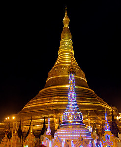 Stupas and Lights
