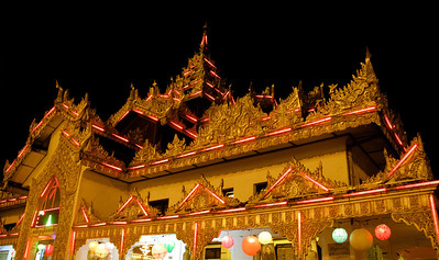 Temple With Special Night Lights