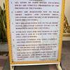 Sign Explaining Foreign Visitor Rules<br /> Shwedagon Pagoda<br /> <br /> Yangon, Burma<br /> 29 July 2012