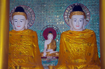 Buddhas with Cape Coverings