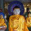 Buddha With Electric Halo<br /> Shwedagon Pagoda<br /> <br /> Yangon, Burma<br /> 5 October 2013