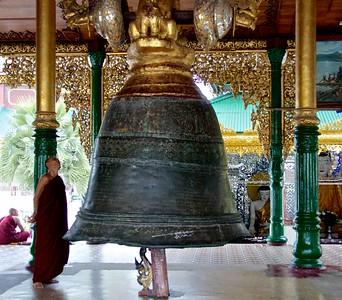 Monk Examining Singu Min Bell