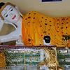 Reclining Buddha<br /> Shwedagon Pagoda<br /> <br /> Yangon, Burma<br /> 29 July 2012