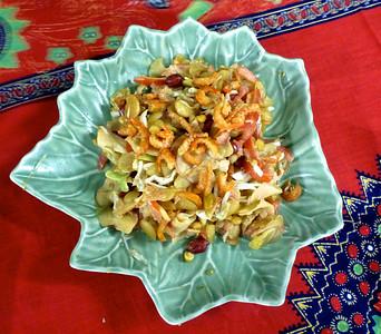Gin Thote (Ginger Salad)