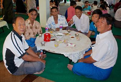 International School of Myanmar Security Staff