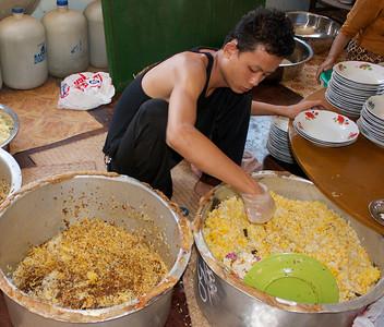 Dishing Up Saffron Rice
