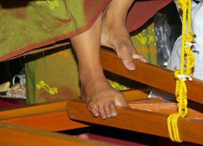 Team 4: Weaver's Foot Pedals Closeup