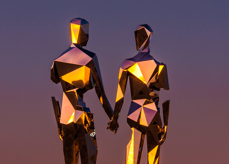 Broken but Together by Michael Benisty at sunrise