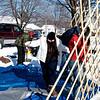 Frostburn 2009 yurt setup