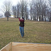 Frostburn 2012:  The (sledge)hammer toss. I'm half hiding behind the fuel depot…for safety