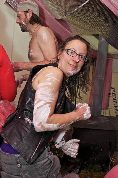 Frostburn 2013  casting G-Force's belly at the V-Spot lounge  Camp Kevin Brookville, PA