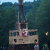Wicker Man  at Four Quarters Farm in Artemas PA, June 17-20 2010.