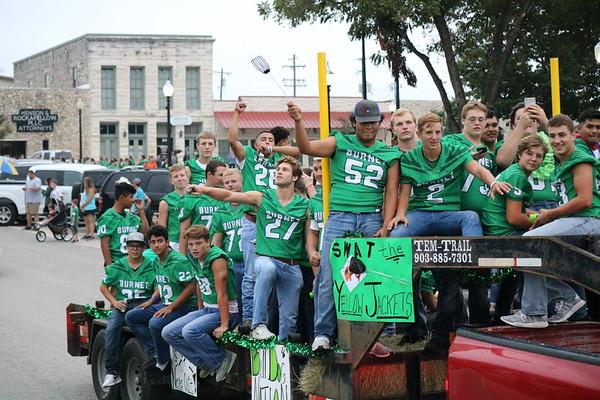 BHS Varsity Football float