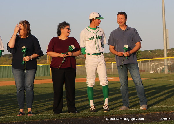Burnet Baseball Senior night