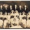Jun 24, 1939 - F Row - Betty Graham, Jr, Mary Hanna Graham, UNK child, UNK child, Jean Graham, Ruth Graham-Whitaker, UNK Child, UNK F, Marjorie Graham.