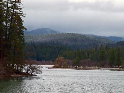 Lake at Burney Falls