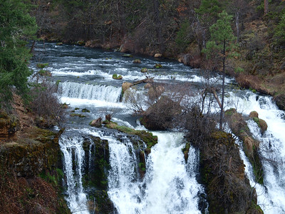 Top of Burney Falls