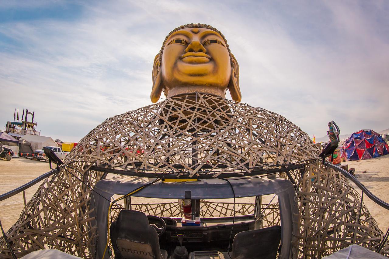 Buddha Hand Art Car