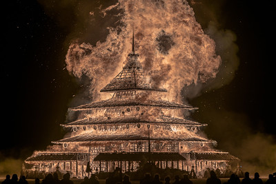 The Temple Project Burns in silence.