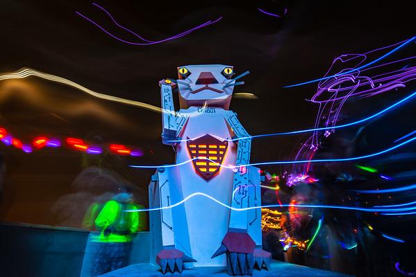 Burning Man 2018 iRobot