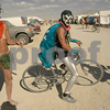 The Vegan Avenger makes his appearance at Burning Man