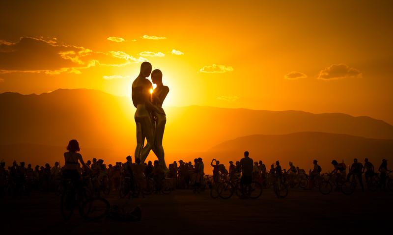 Burning Man Hugs are Best