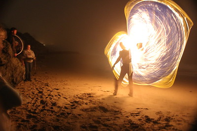 Full Moon Fire Dancing 2013