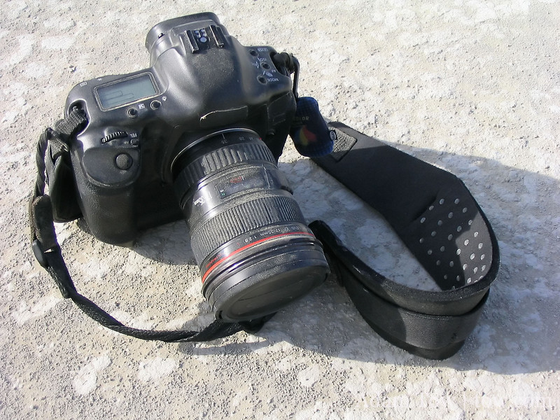 My camera after a dust storm