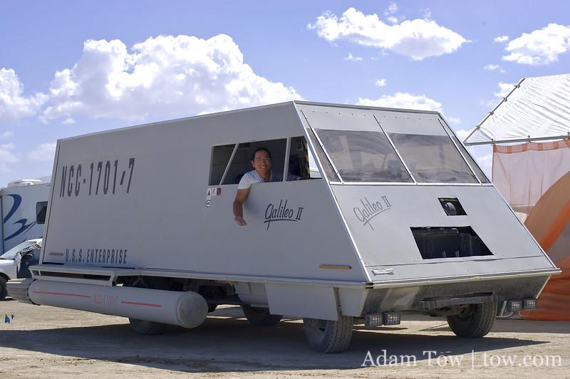 Galileo II Shuttlecraft art car