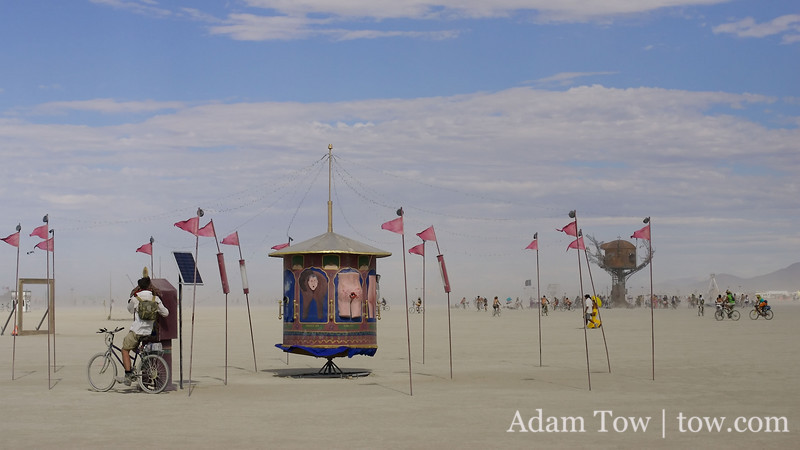 Out on the playa
