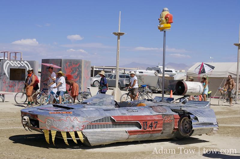 Landspeeder art car
