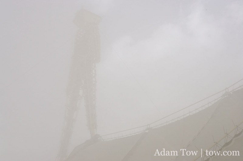 The Man in the dust storm