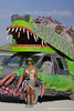 An art car near our campground