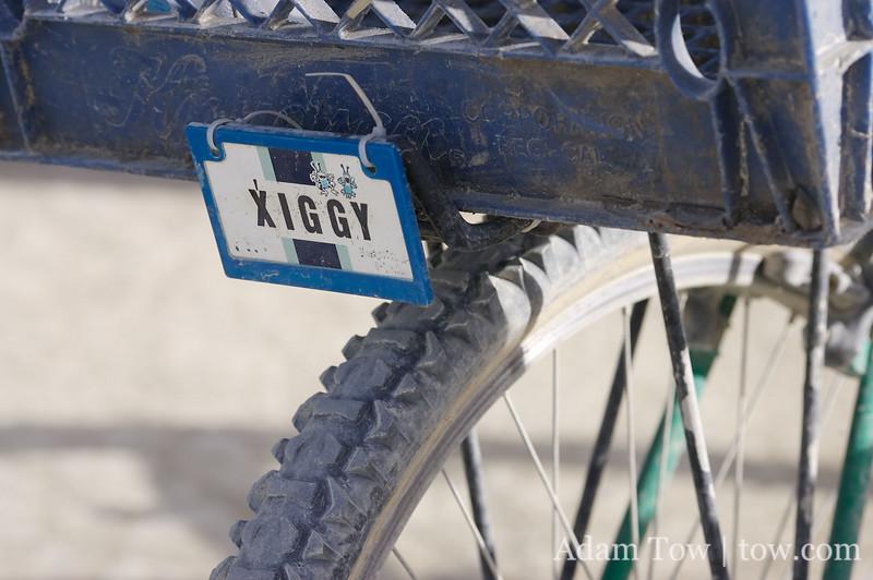 Xiggy's bike
