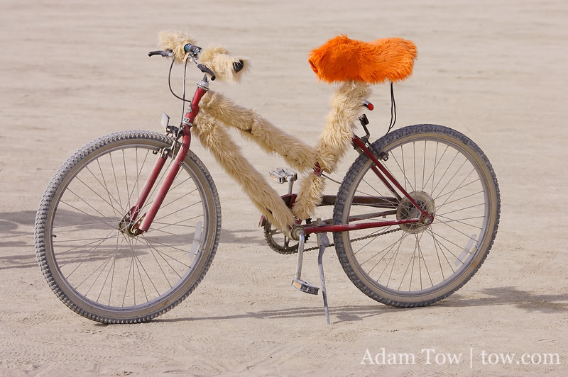 Fuzzy bikes were all the rage