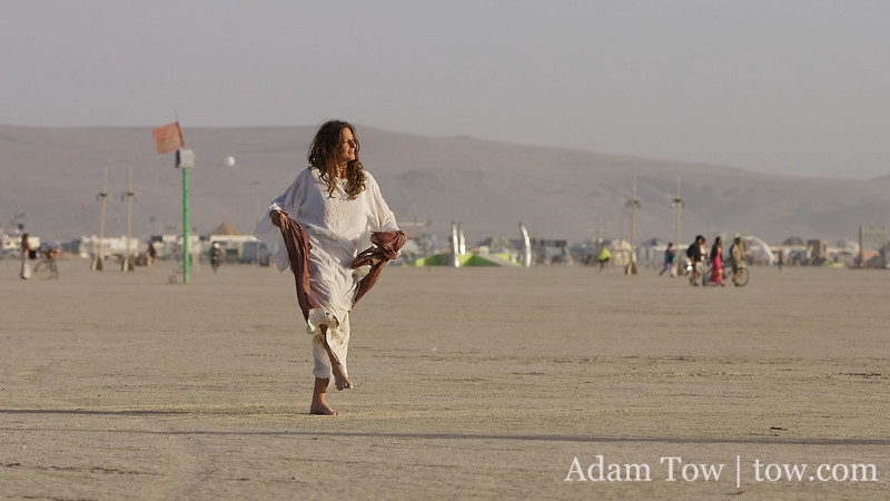 Dancing on the playa