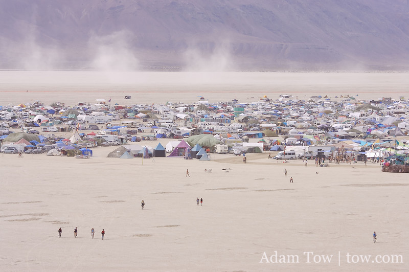 City on the Edge of the Playa