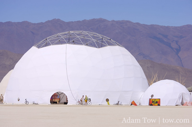 Circus tent dome