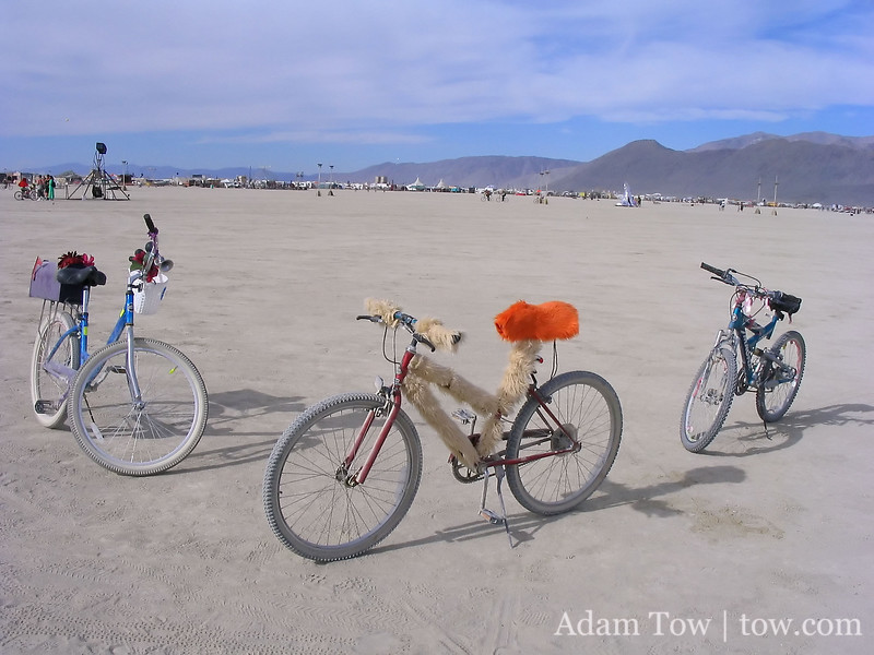More bikes on the playa