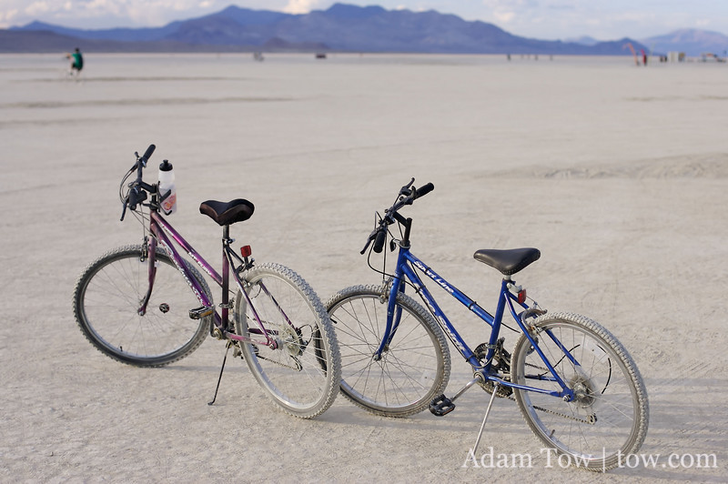 The best way to get around Burning Man.