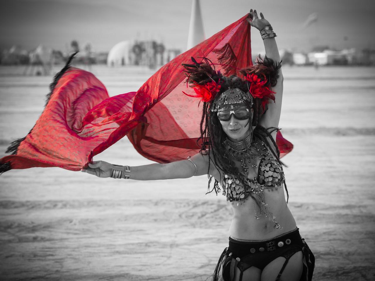 A Morning Desert Dance