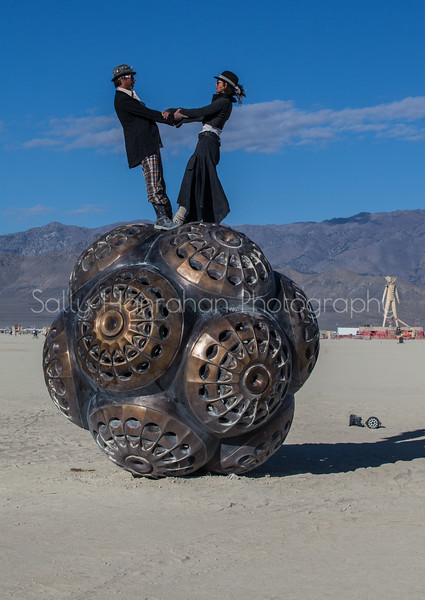 Mars Molecule~ Burning Man 2015